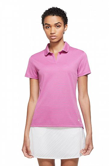 Nike Women's Dri-FIT Victory Textured Golf Shirts