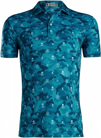 G/Fore Icon Camo Golf Shirts