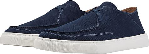Peter Millar Seaside Breeze Canvas Slip-On Casual Shoes
