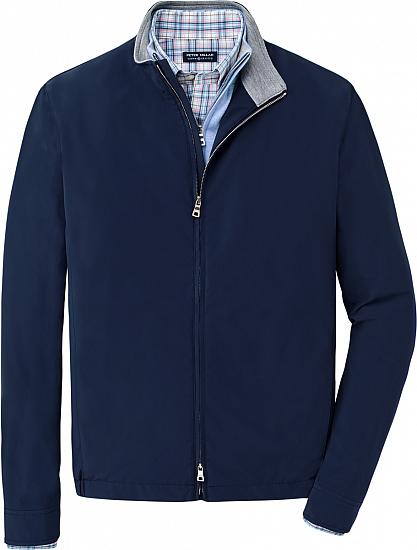 Peter Millar Crown Crafted Stealth Performance Full-Zip Golf Jackets - Tour Fit