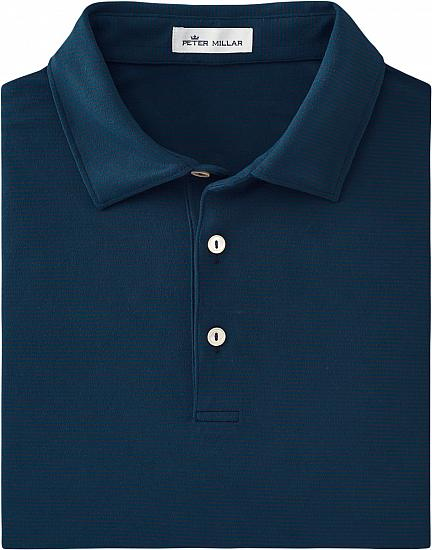 Peter Millar Lyons Stripe Performance Long Sleeve Golf Shirts