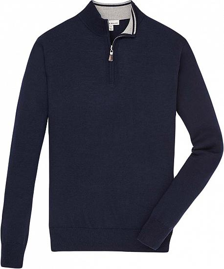 Peter Millar Crown Soft Quarter-Zip Golf Pullovers