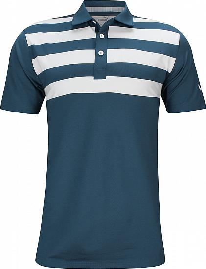 Puma Pars and Stripes Golf Shirts - Rickie Fowler U.S. Open Thursday