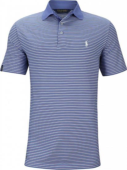 Polo Performance Lisle Striped Golf Shirts