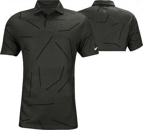 Nike Dri-FIT Tiger Woods Jacquard Golf Shirts