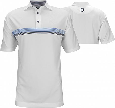 FootJoy ProDry Lisle Chestband Golf Shirts - FJ Tour Logo Available