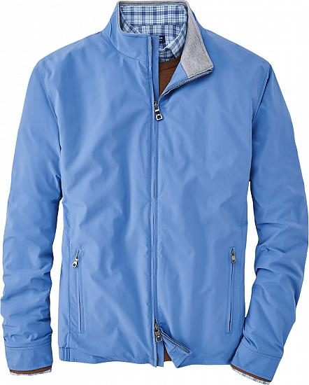 Peter Millar Crown Crafted Stealth Light Insulated Full-Zip Golf Jackets - Tour Fit