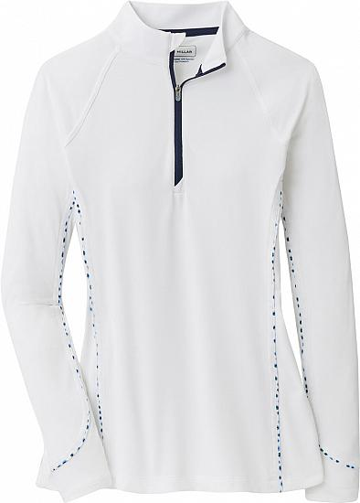 Peter Millar Women's Lightweight Sun Lyme Petal Dot Comfort Golf Base Layers