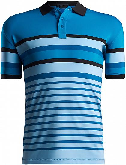 G/Fore Variegated Stripe Golf Shirts