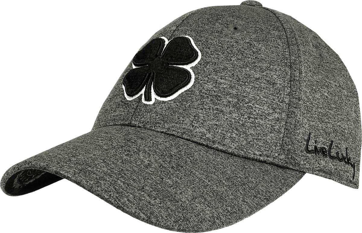 Black Clover Lucky Heather Flex Fit Golf Hats - ON SALE c4cfec6312f