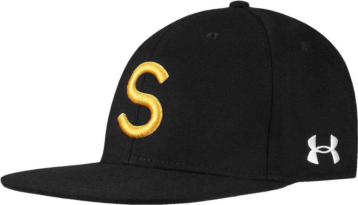 Under Armour  Your Initial  Stretch Flat Bill Flex Fit Personalized Golf  Hats ed8c554ff70