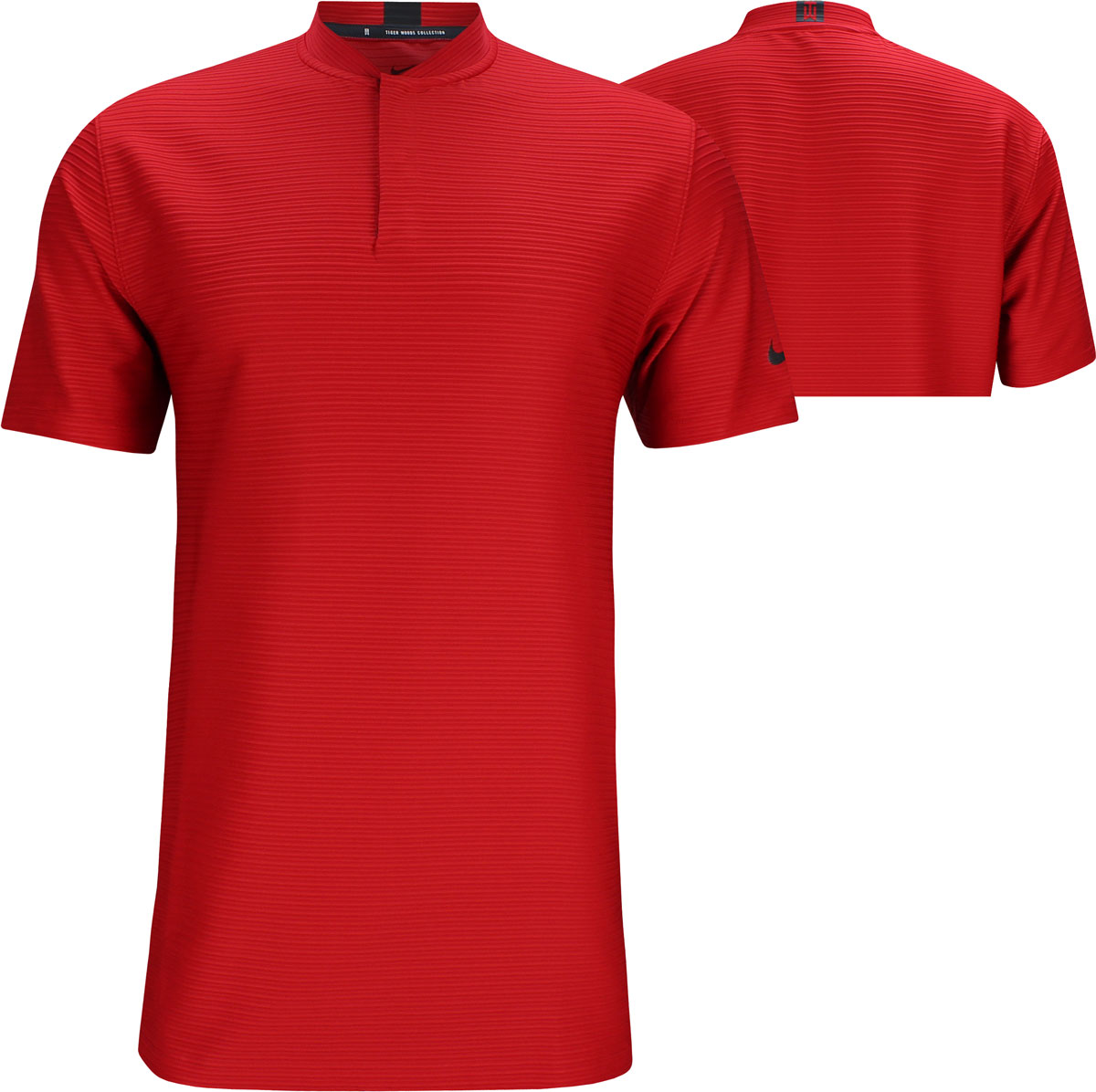 mecanismo Motivación arrastrar  Nike Dri-FIT Tiger Woods Stripe Blade Golf Shirts
